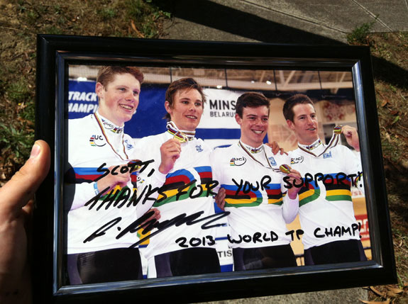 """""""Little gift to Scott McGrory to thanks him for all his support. I'll be giving out quite a few more of these to people that have supported me. Stay tuned!"""""""