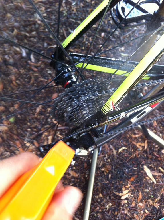 """""""2. Spray the whole bike with wash/degreaser. Especially the drivetrain (chain, cassette etc)..."""""""