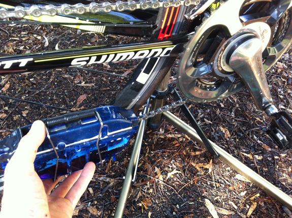 """""""3. Highly recommend a chain cleaner. One of the best bike cleaning tools that you can buy..."""""""