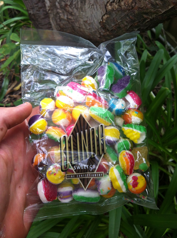 """""""Emergency food – luckily there are a few lolly shops up in the Dandenongs – ended up riding a bit further than planned and was very close to a hunger flat!"""""""