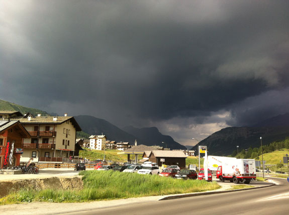 """""""Storm rolling in... I ran home!"""""""