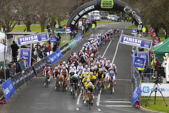 """""""The final Criterium stage in Traralgon. Averaged 173HR for the 1 hour race!"""""""
