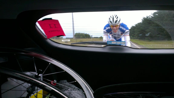 """""""Coming back through the convoy after a mechanical issue."""""""