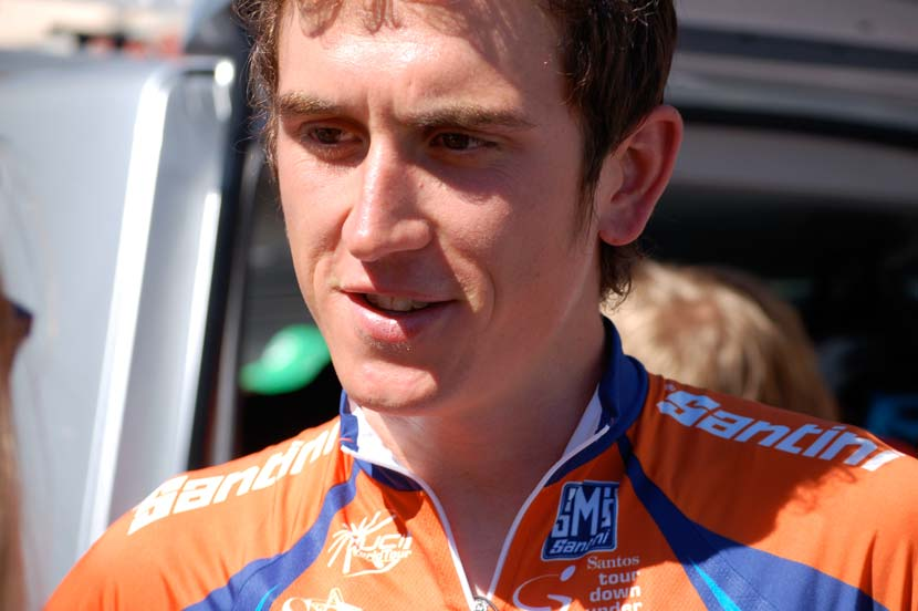 Thomas led the 2013 Tour Down Under for several days... Photo: Rob Arnold