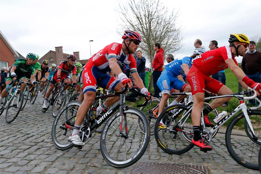Thor Hushovd has been on the podium in Roubaix before and he's one of the protected riders at BMC in 2014. Photo: Yuzuru Sunada