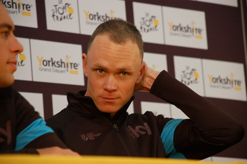 Chris Froome has been the centre of attention but his race is over before the Tour reaches the mountains. Photo: Rob Arnold