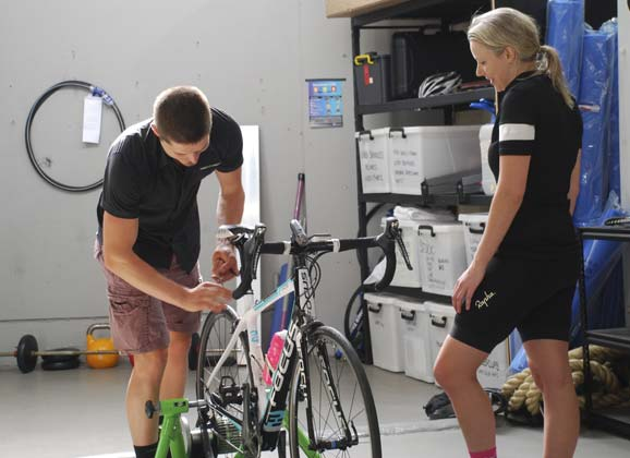 Fitting bike to rider by The Body Mechanic