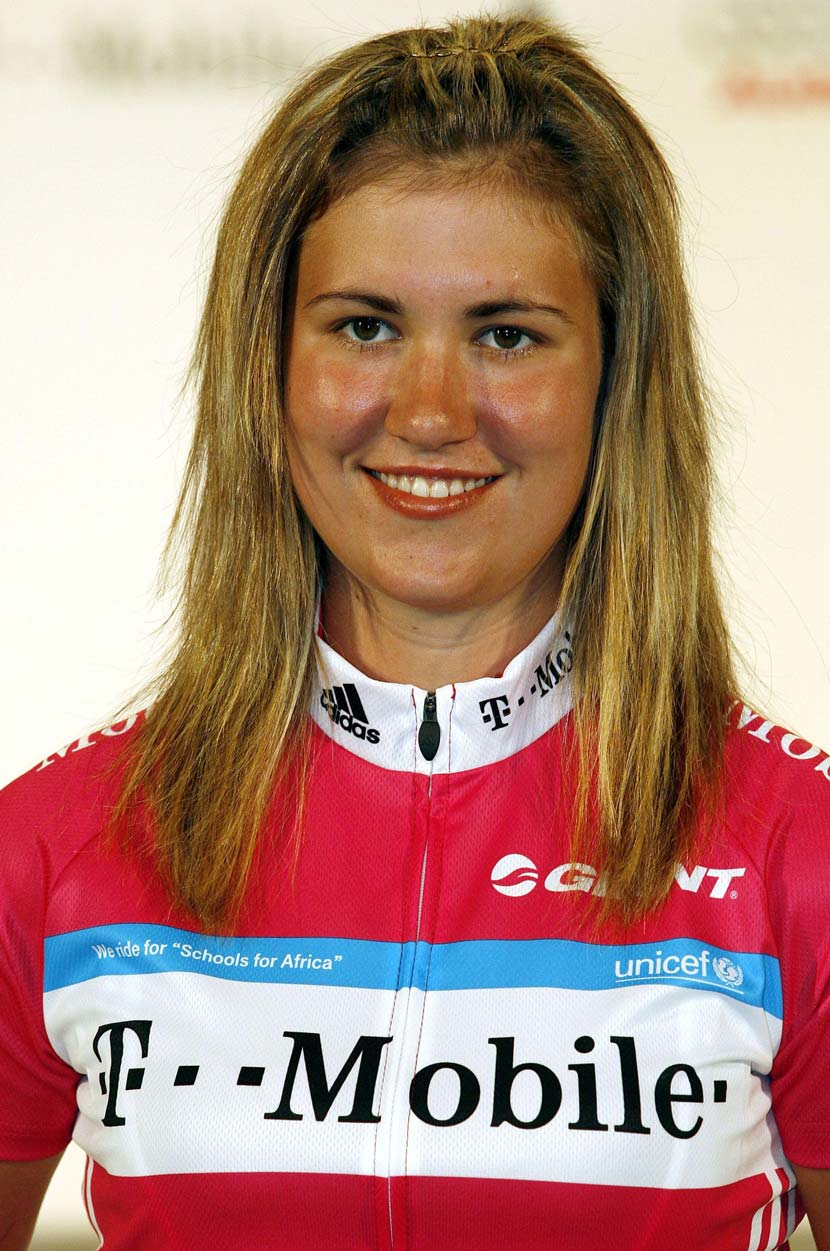 Rhodes at the presentation of the T-Mobile team in 2007.  Photo: Graham Watson