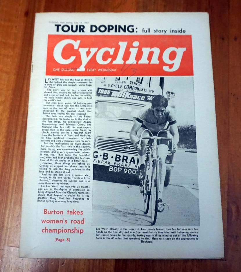 From the archives... 'Cycling' from 1965.