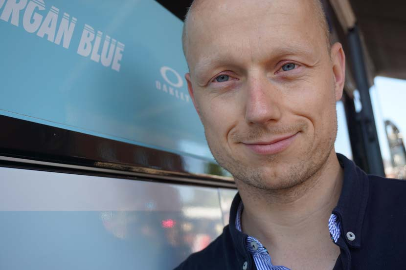 The doctor for Etixx-Quickstep, Helge Riepenhof.  Photo: Rob Arnold