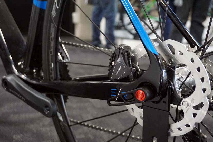 Avanti's 2016 range includes disc brake options for some road bikes...
