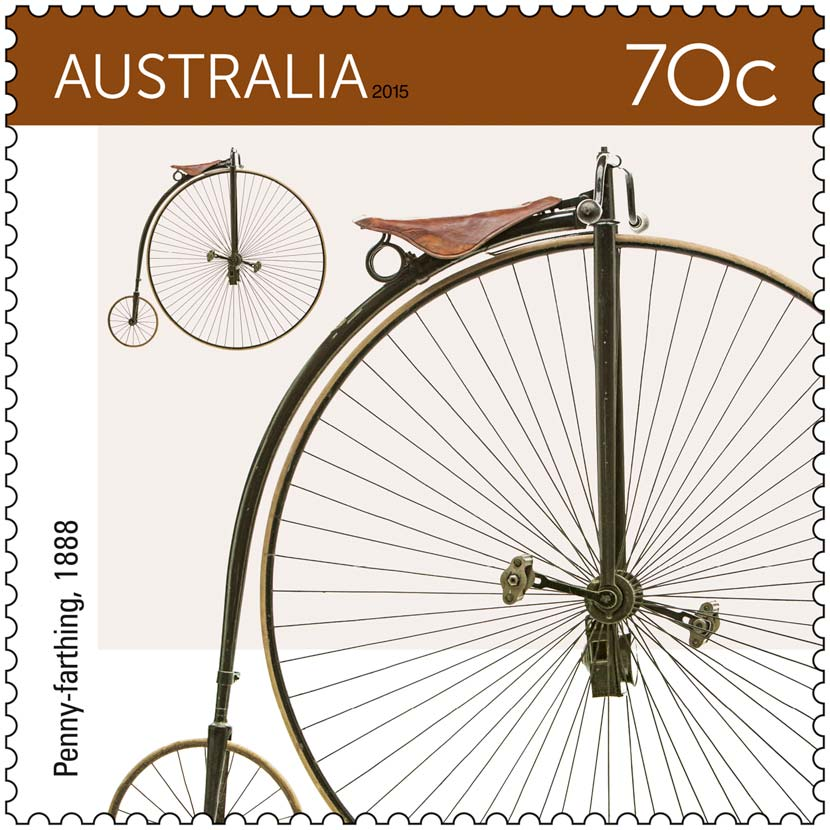 70c-Bicycles-stamp-issue_Penny-farthing-1888_2015