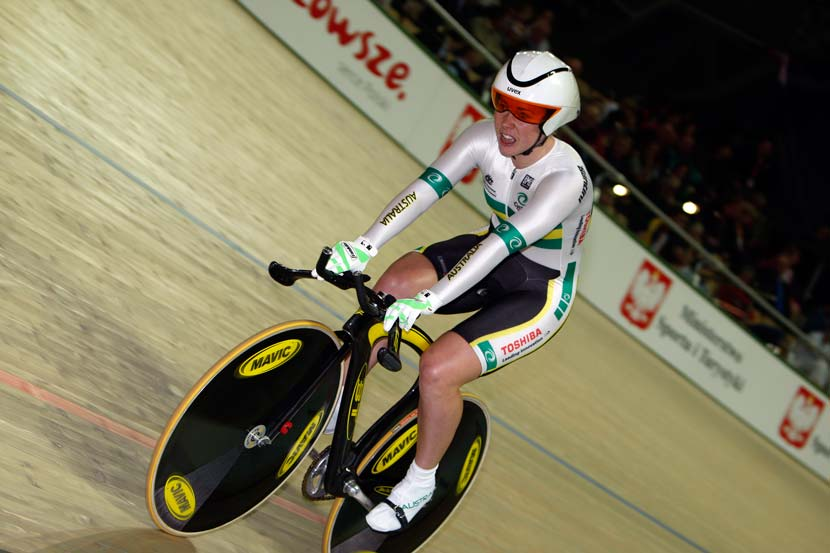 McCulloch contested the 500m TT at the worlds in 2009. Photo: Yuzuru Sunada