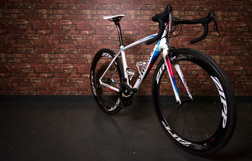 Armitstead's Amira... Specialized unveiled the special colour scheme for the world champion's new bike last month. Photo: Courtesy Specialized.