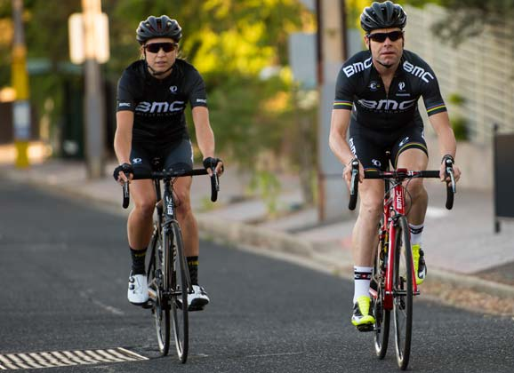 Riding with Cadel: a new chapter of cycling