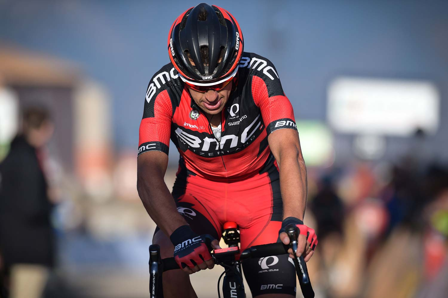 Porte finishes fourth in the sixth stage of Paris-Nice... and moves up the GC rankings in the process. Photo: Yuzuru Sunada