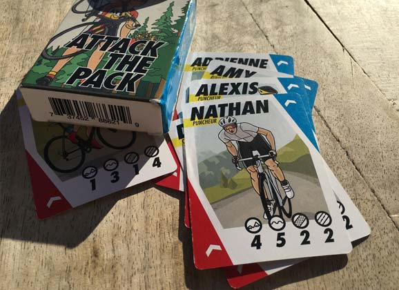 Nathan Haas: Attack the Pack – a cycling card game