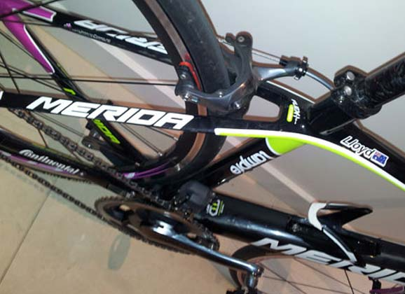 New season, new bike…