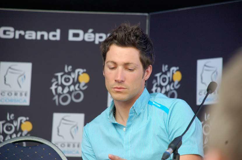 Nicolas Portal, now the main directeur sportif at Team Sky. Photo: Rob Arnold