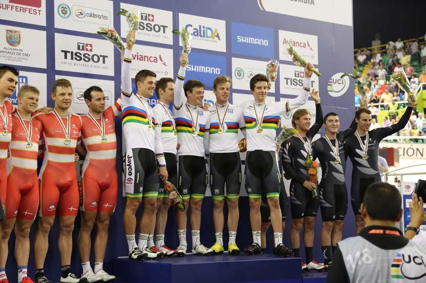 Photo: courtesy of Cycling Australia