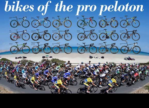 Bikes of the 2014 pro peloton