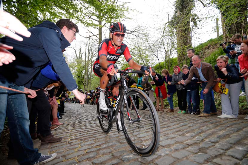 Greg van Avermaet – second in the Tour of Flanders and BMC's leader for Paris-Roubaix. Photo: Yuzuru Sunada