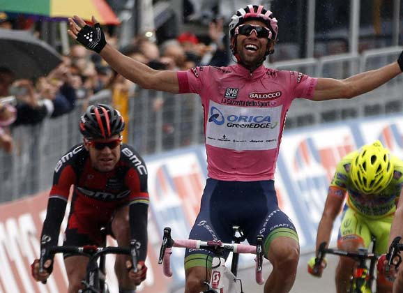 Michael Matthews explains his Giro d'Italia stage win