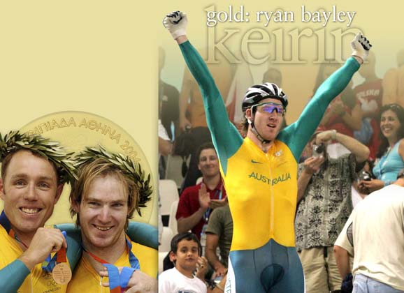 Flashback: Athens Olympics sprint and keirin – 1st: Ryan Bayley