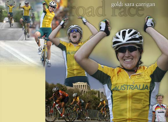 Flashback: Athens Olympics road race – 1st: Sara Carrigan