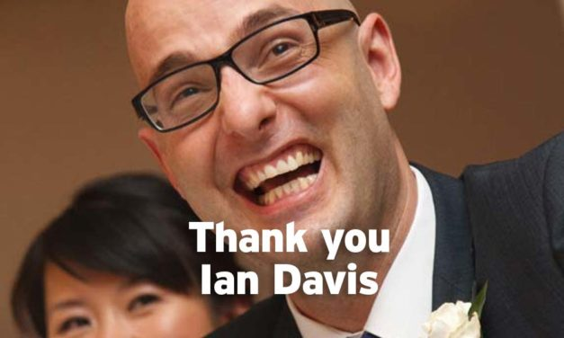 Ian Davis: raising awareness of MND