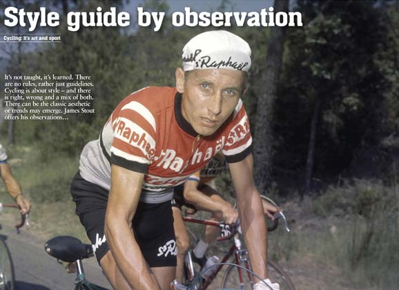 A cyclist's aesthetic: style guide by observation