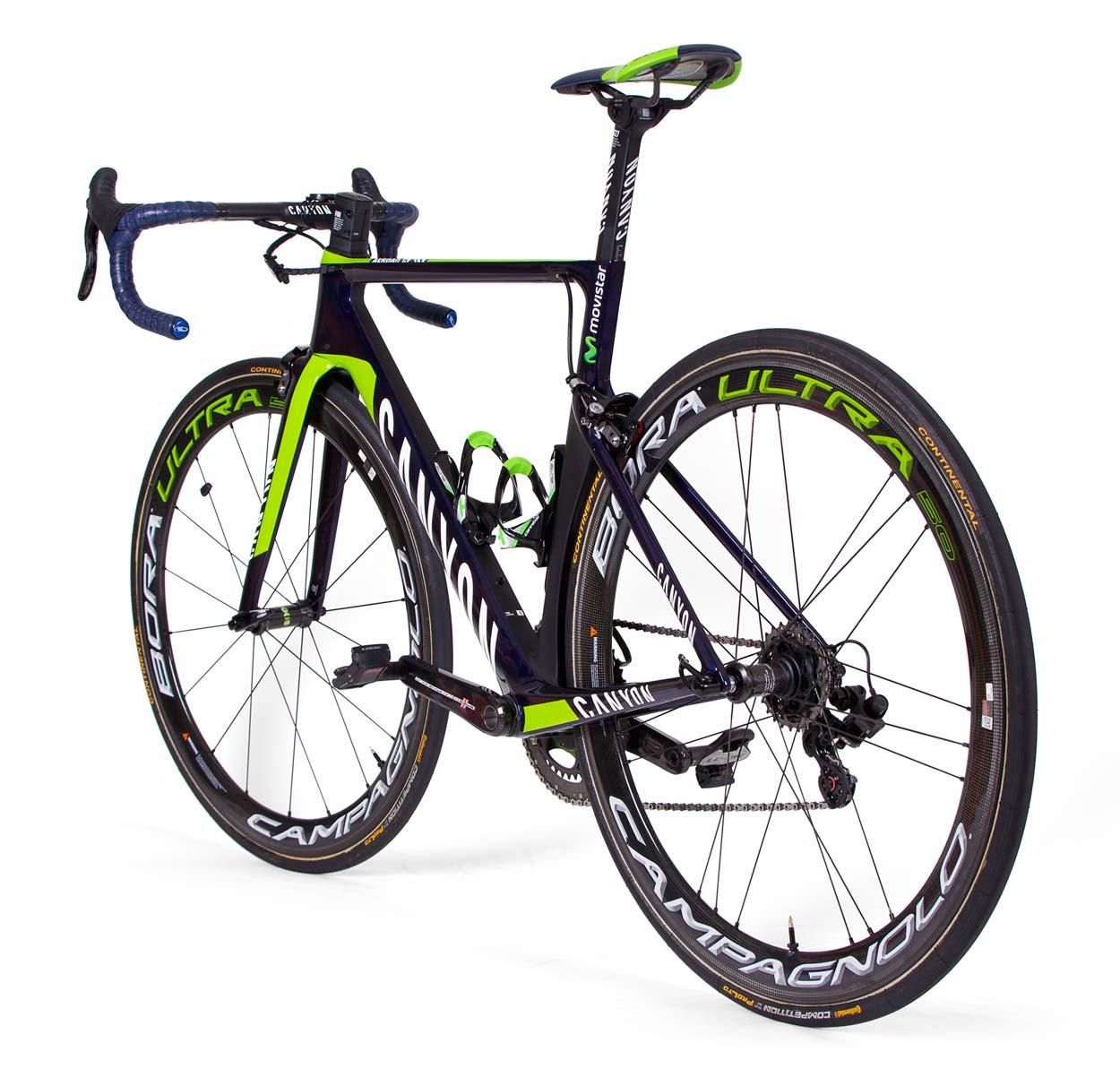 Team bike gallery – Canyon of Movistar - Ride Media