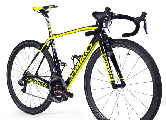 Team bike gallery – Specialized of Tinkoff-Saxo