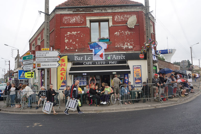 "Australian Corner... in an ""Australian town in France"". Photo: Rob Arnold"