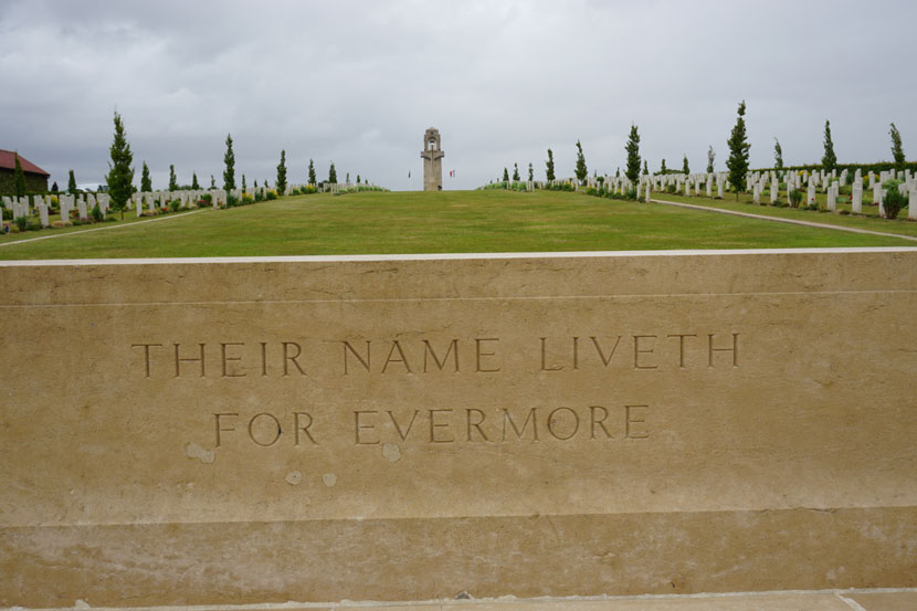 The Australian War Memorial... at the 169km mark of the fifth stage. Photo: Rob Arnold