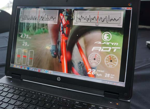 Avanti and accelerometers: refining ride qualities