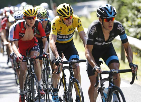 Froome and Porte: when friends become rivals
