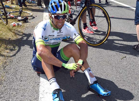Comments from Orica-GreenEdge about stage 3