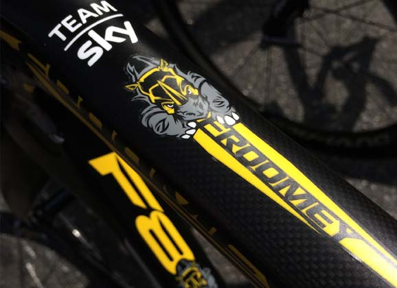 Froome: the story of the Rhino on a Pinarello