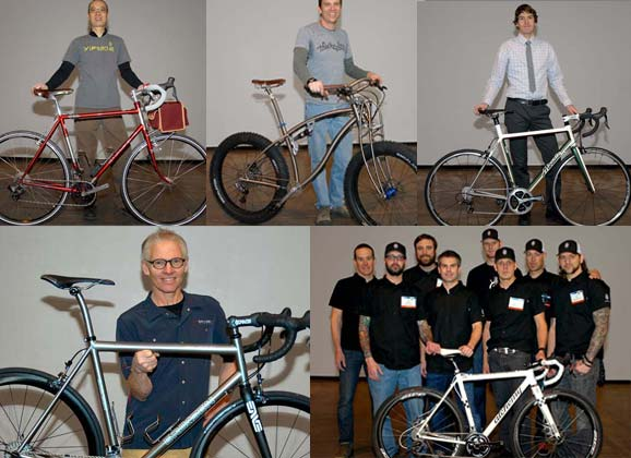 Builders and their bikes – Q&A with frame makers