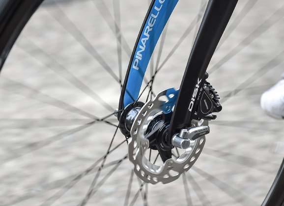 Shimano's WorldTour disc brake debut