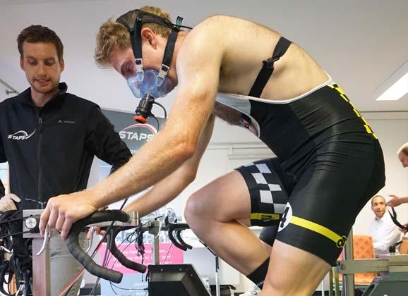 Testing the test rider