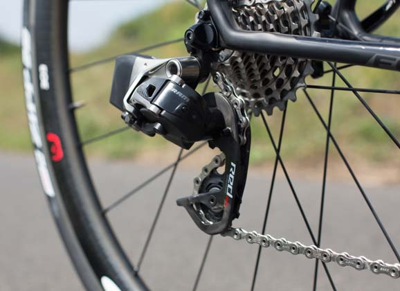 SRAM's eTap – wireless shifting unveiled