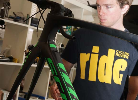 Bike build in brief: Scott Foil