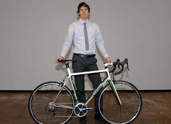 Aaron Barcheck Q&A – building bikes