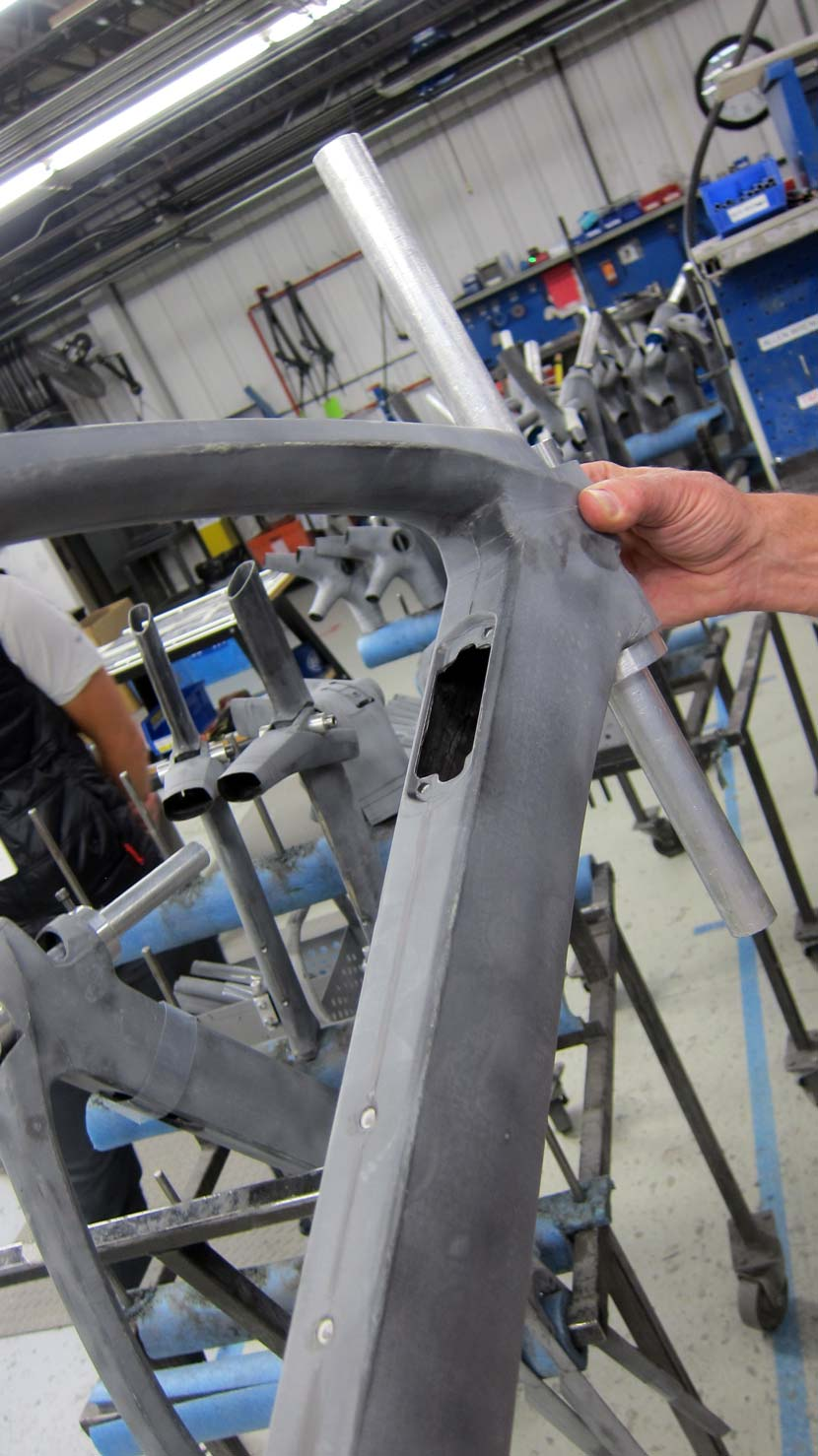 The new Madone... in construction. Photo: James Stout