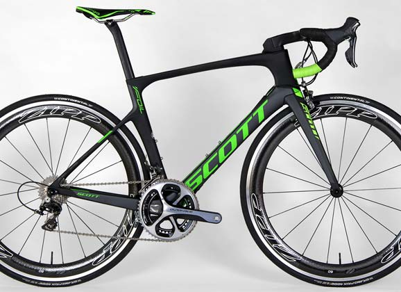 Bike test 01: RIDE 69 – Scott Foil