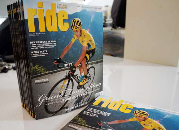 The new issue: RIDE 69