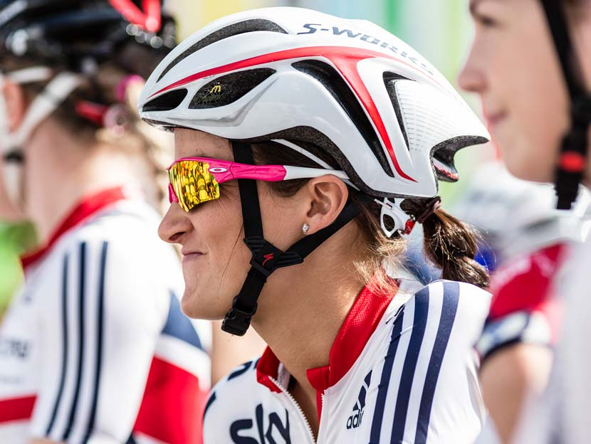 Lizzie Armitstead, one of the riders the Australians are going to be wary of. Photo: Wei Yuet Wong