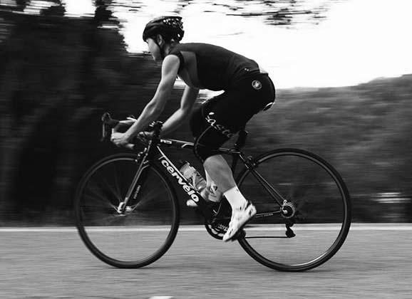 """Bike racing is saving my life"""